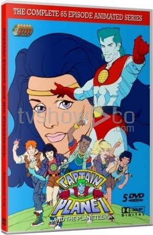 Captain Planet and the Planeteers Case