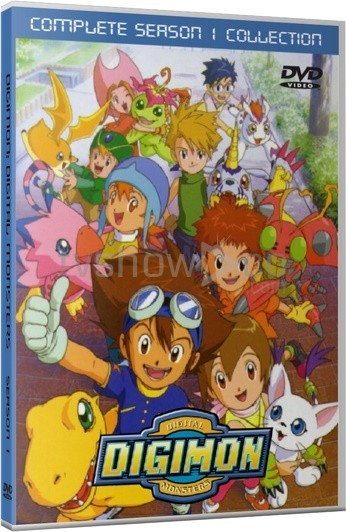 Digimon Adventure Season 1 Case