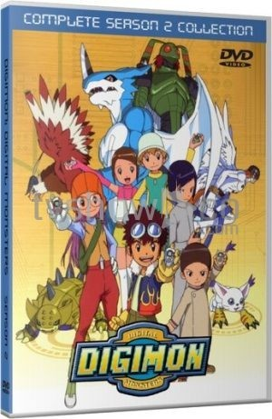Digimon Adventure Season 2 Case