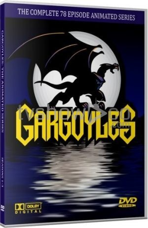 Gargoyles Animated Series DVD Case