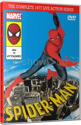 Spider-Man 1977 Live Action Series Case