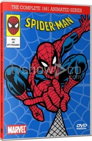 Spider-Man 1981 Animated Series Complete DVD Case