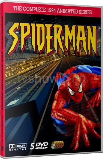 Spider-Man 1994 Animated Series Case