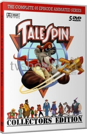 Talespin Animated Series Case