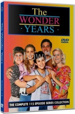 The Wonder Years DVD Case