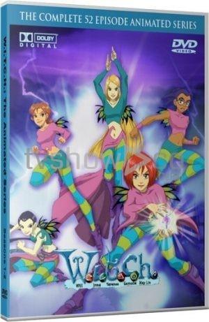 W.I.T.C.H. Animated Series Case