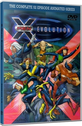 X-Men Evolution Animated Series Case