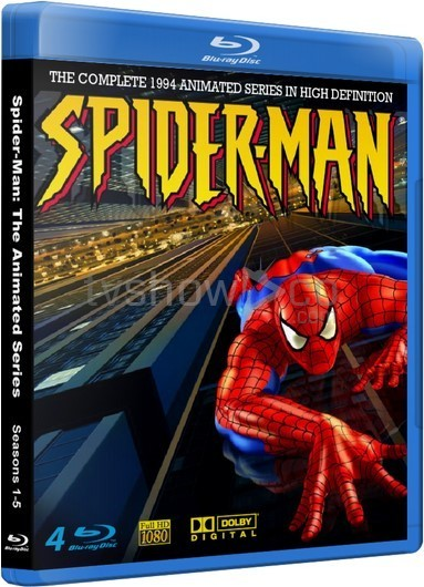Spider-Man 1994 Animated Series Complete Blu-Ray Case