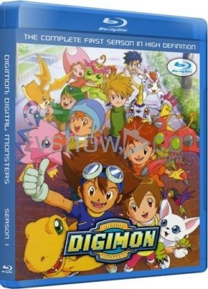 Digimon Adventure Season 1 Complete Blu-Ray Case