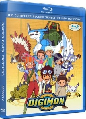 Digimon Adventure Season 2 Complete Blu-Ray Case
