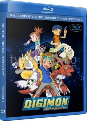 Digimon Tamers Season 3 Complete Blu-Ray Case