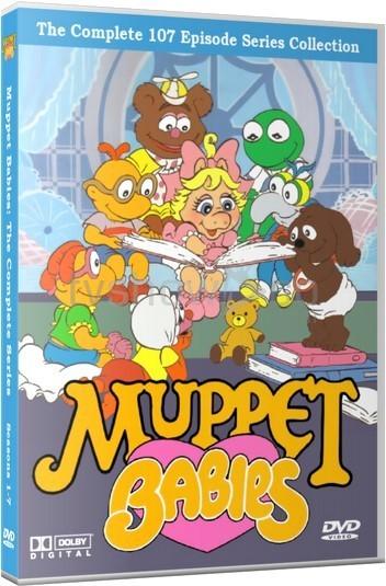 Muppet Babies DVD Case