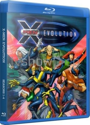 X-Men Evolution Blu-Ray Case
