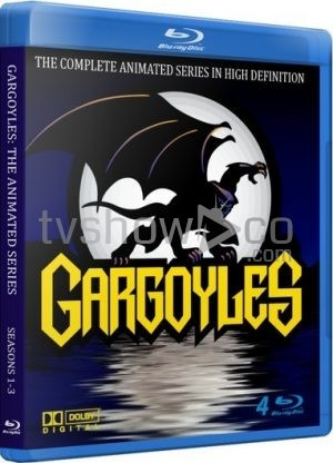 Gargoyles Blu-Ray Case