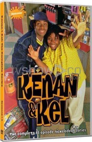 Kenan and Kel DVD Case